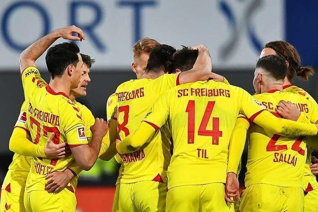 SC Freiburg erkämpft sich gegen Augsburg einen mühevollen 2:0-Sieg