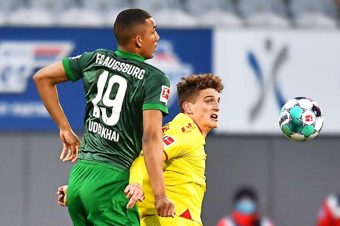 Enttäuschte nicht, braucht aber Spielpraxis: Guus Til (rechts)    Foto: SC Freiburg/Achim Keller