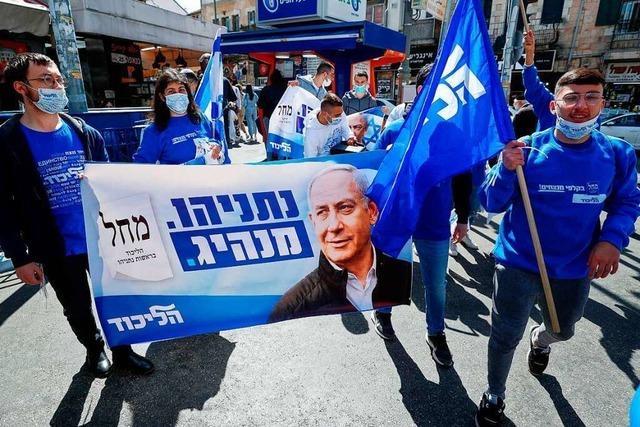 Premier Netanjahu umwirbt die arabischen Israelis wie nie zuvor