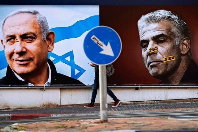 In Israel scheint es keine klare Mehrheit im Parlament zu geben