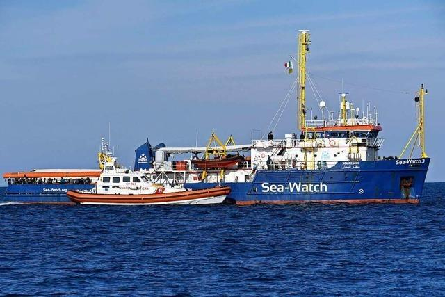 Italien blockiert deutsches Hilfsschiff
