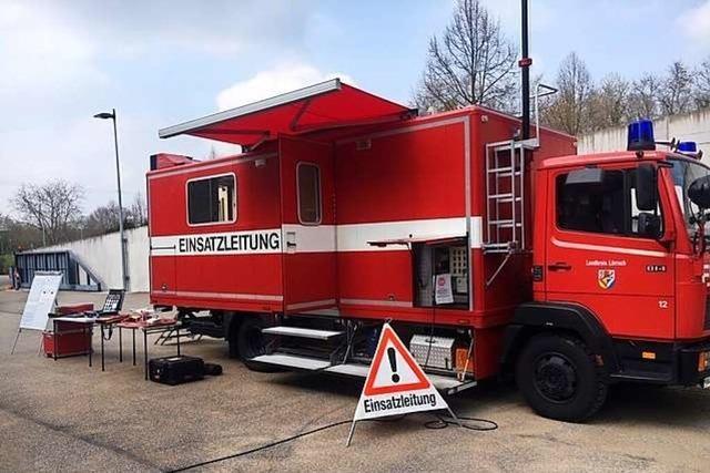 Der Landkreis Lörrach erneuert die mobile Kommandozentrale