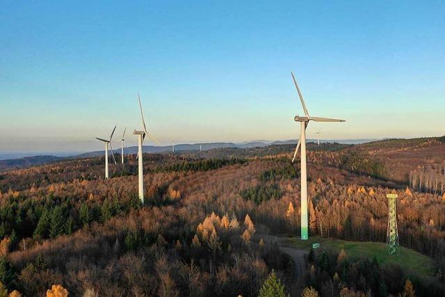 Der Abbau von drei Ettenheimer Windenergieanlagen beginnt