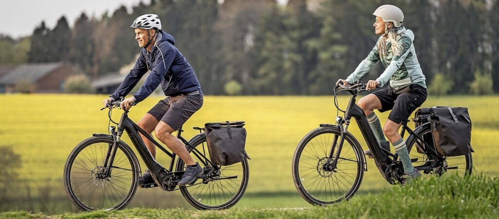 Fahrräder mit tiefem Einstieg sind auch als E-Bikes beliebt.  | Foto: brose-ebike.com