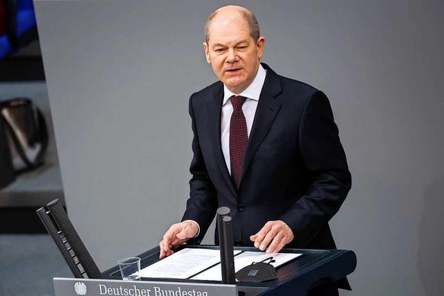 Bundesfinanzminister Scholz plant Neuverschuldung von 81,5 Milliarden Euro