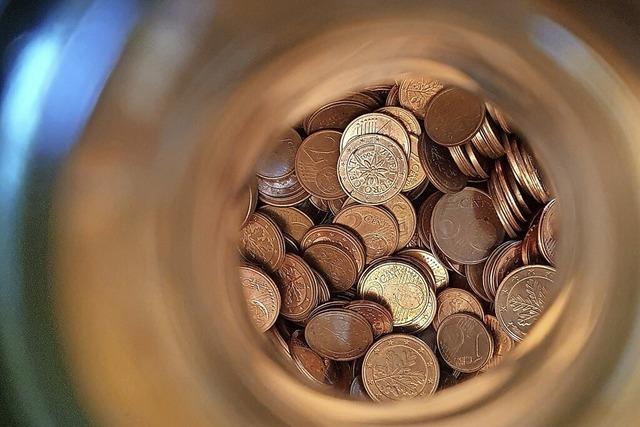 Kann man die gesammelten Groschen bei der Bank abgeben?