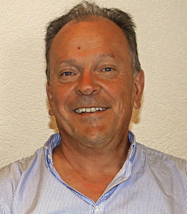 Reinhard Schmitt, Vorsitzender des Handels- und Gewerbevereins Stühlingen.     Foto:  Holzwarth, Sandra
