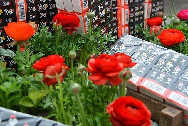 Blumenladen aus Ettenheim will dank Taschentüchern offen bleiben