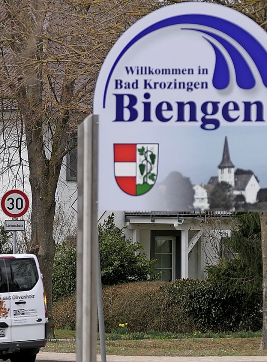 Im Ortsteil  Biengen ging es im Januar 2021 mit Tempo 30 los.    Foto: Hans-Peter Müller