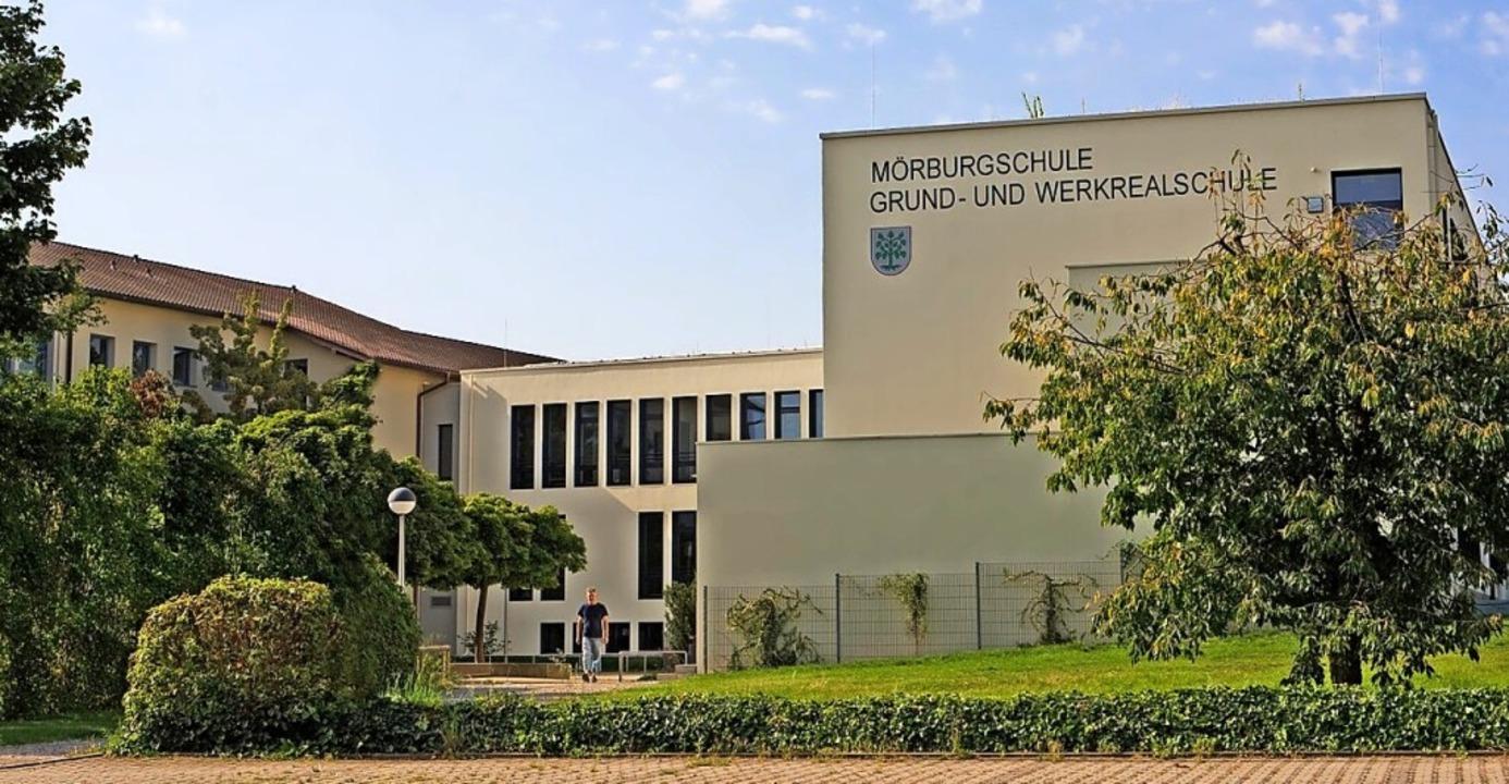 An der Mörburgschule gab es eine Infektion mit einer Mutation.  | Foto: Schule