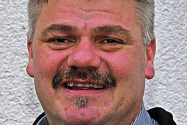 Auch Martin Wietzel will Bürgermeister in Utzenfeld werden