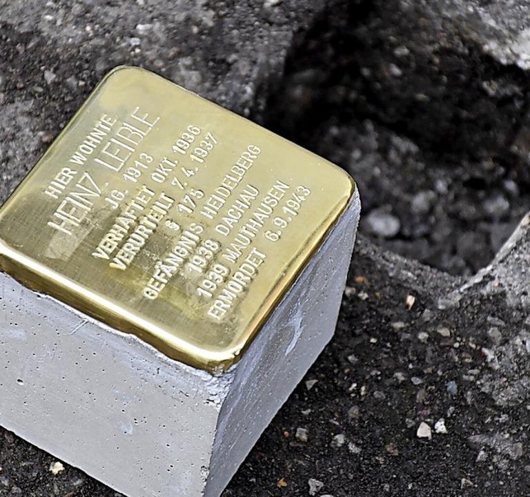 Stolpersteine sollen nun auch in Schopfheim verlegt werden.    Foto: Barbara Ruda