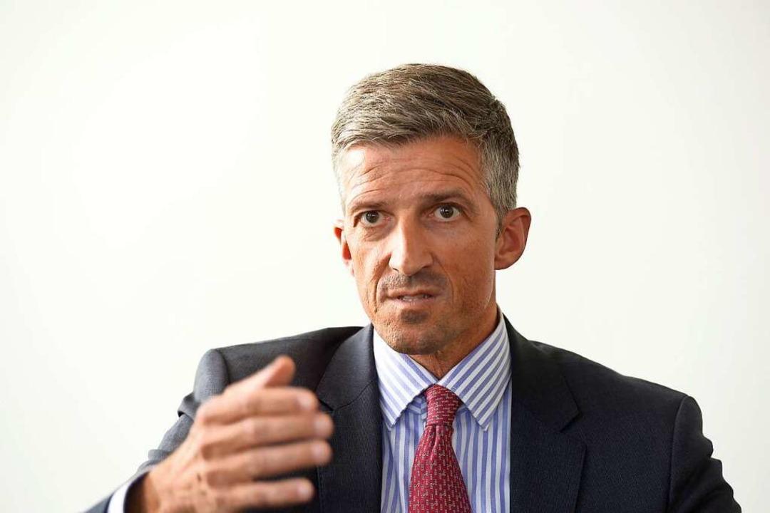 Frederik Wenz, der Leitende Ärztliche Direktor der Freiburger Uniklinik    Foto: Ingo Schneider