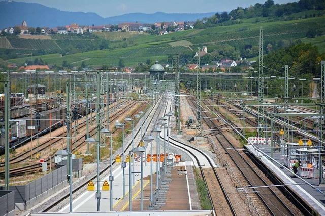 Neubaustrecke der Bahn bei Weil am Rhein wird erst Ende 2027 fertig