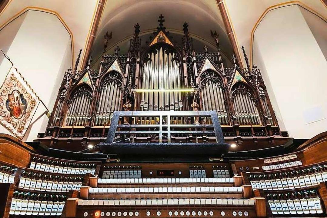 Die deutsch-romantisch konzipierte Orgel in der Kirche St. Josef in St. Ingbert  | Foto: Naxos