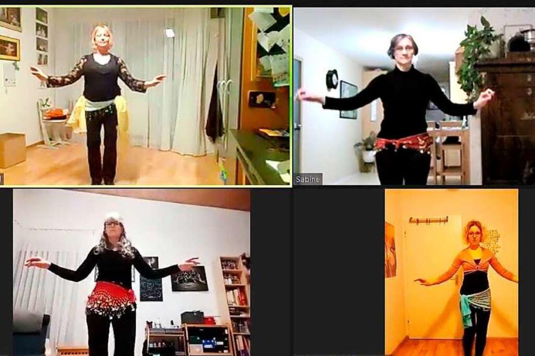 So geht orientalischer Tanz online.  | Foto: Donata Weier