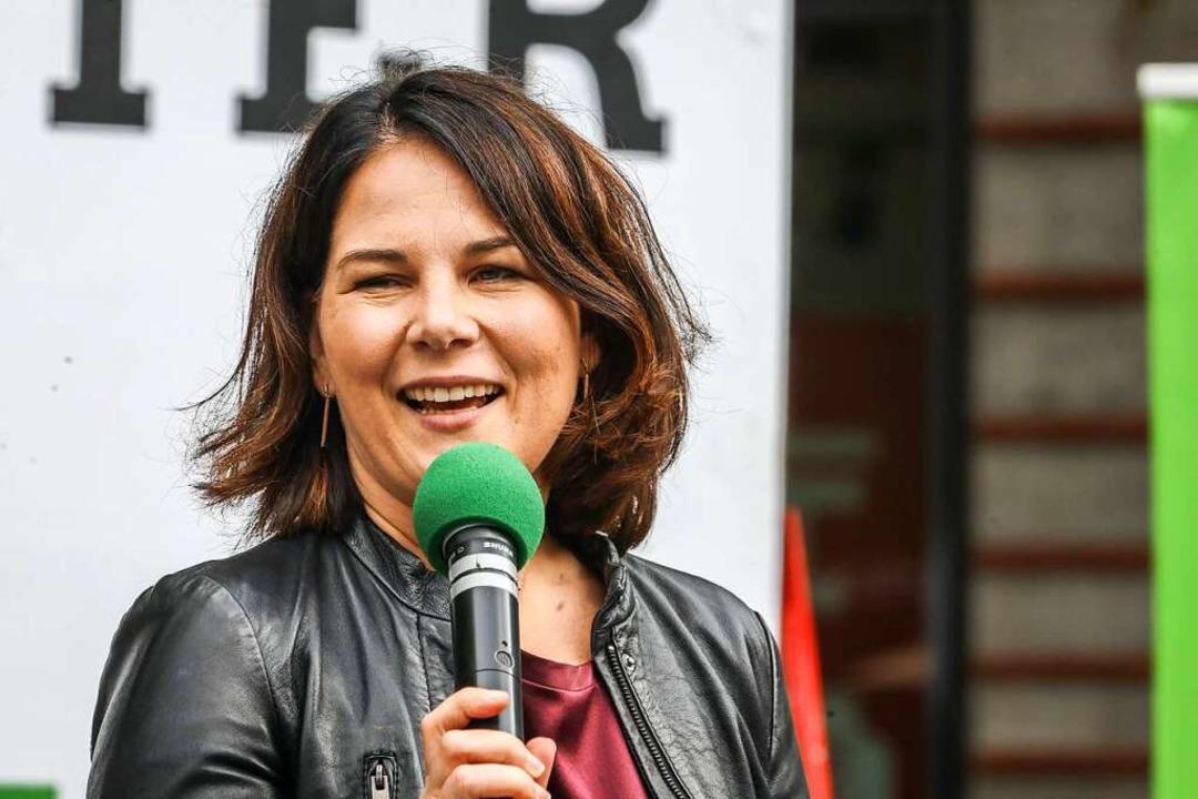 Wenn Annalena Baerbock kandidieren möchte, wird sie Grünen-Spitzenkandidatin.    Foto: Rüdiger Wölk via www.imago-images.de