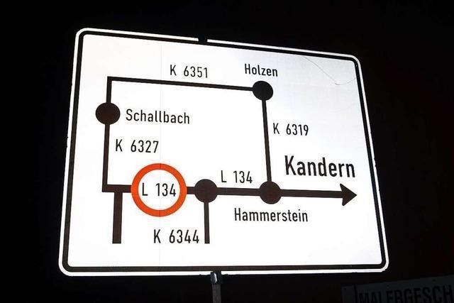 Sperrung der L134 zwischen Rümmingen und Wittlingen beendet