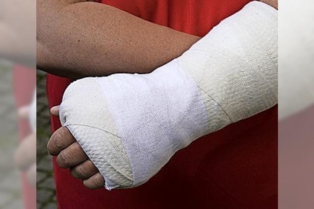 Mein gebrochener Arm