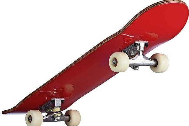 Skateboardfahren ist cool