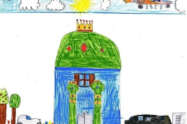 Ein Dach mit Krone