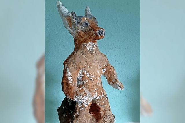 ZISCH-BASTELTIPP: Minotaurus aus Ton gemacht