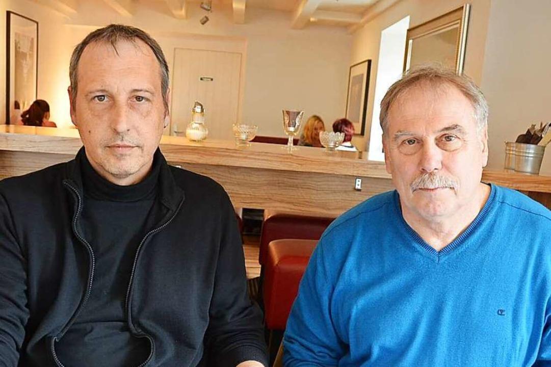 Heiko Weide (links) und Andreas Kiefer  | Foto: André Hönig