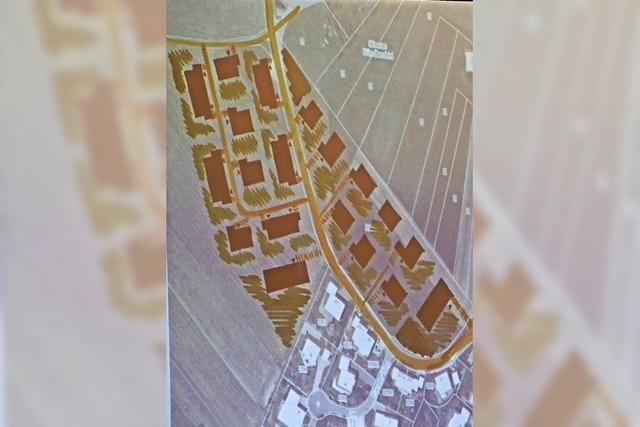 Vorschläge für Neubaugebiet