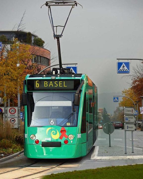 Tram im Schlaufenkreisel: Wird diese Fotomontage bald wahr?  | Foto: BZ-Infografik