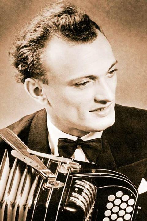 Virtuose auf dem Akkordeon: Rudolf Würthner  | Foto: Pro