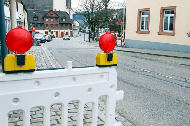 Nach Ostern beginnen die Straßenarbeiten in Seelbach