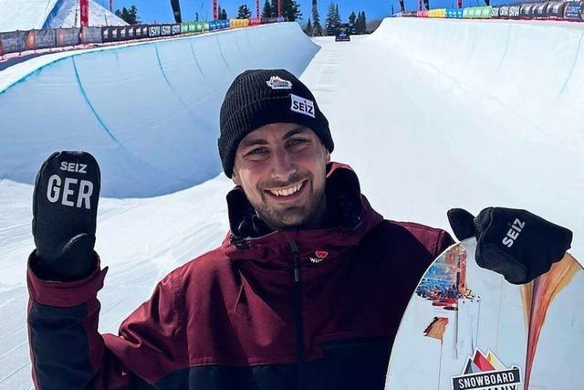 Freiburger Physiotherapeut betreut die deutsche Nationalmannschaft der Snowboarder
