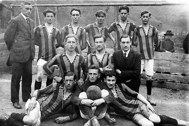 Der FC Zell hat in 100 Jahren alle Krisen gemeistert