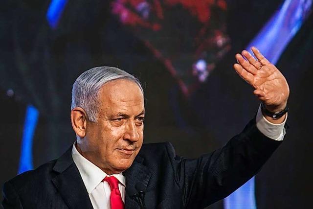 Ministerpräsident Netanjahu muss um weitere Amtszeit bangen