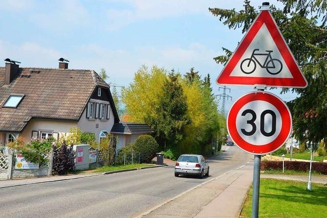 Wird Tempo 30 auf der Lörracher Straße in Rümmingen ausgeweitet?