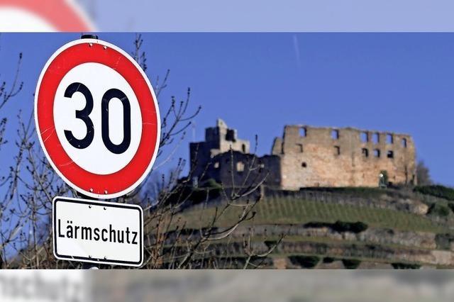 Tempo 30 gilt nun ganztags auf der Ortsdurchfahrt in Staufen