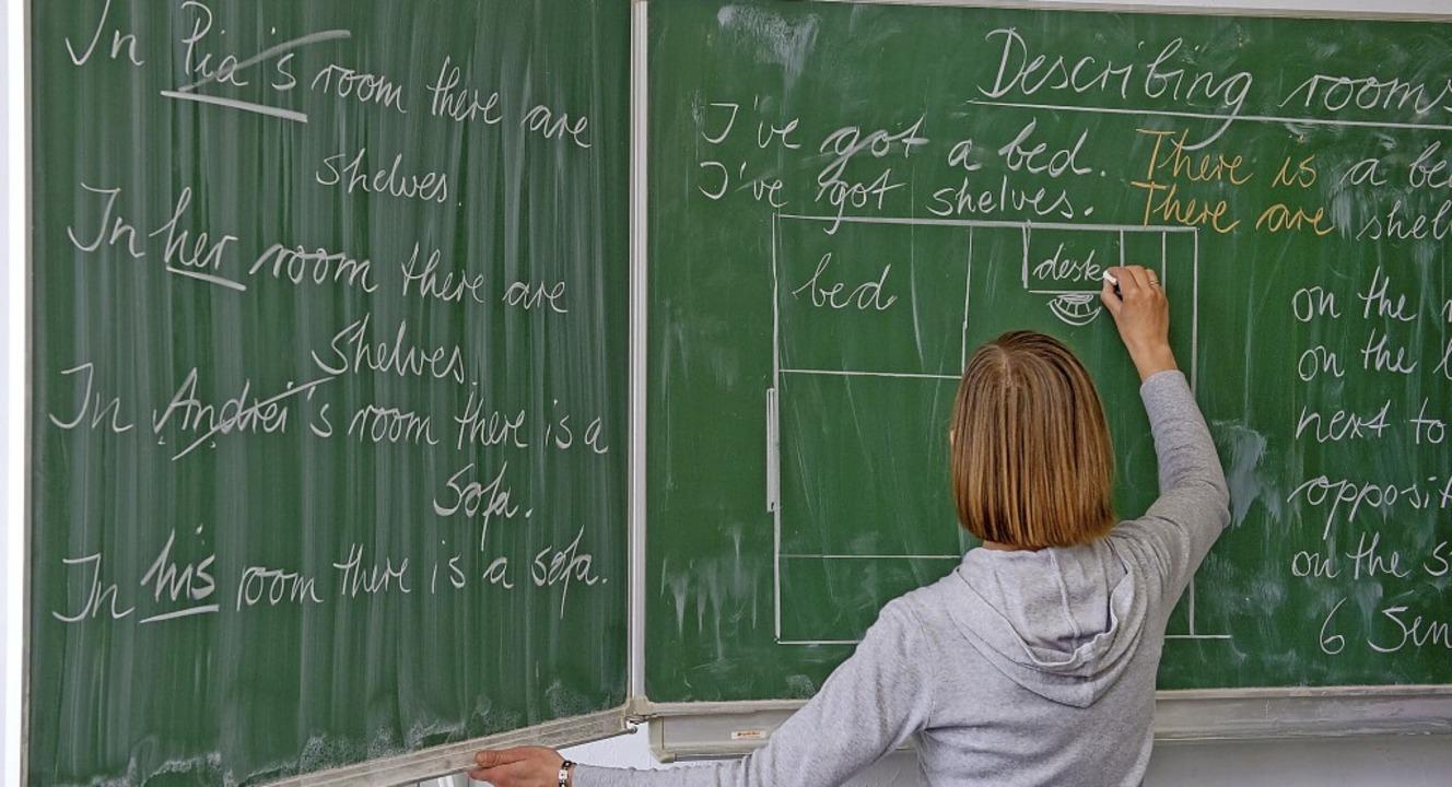 Englisch lernen können Menschen aus al...ter – in kostenlosem Unterricht.    Foto: Patrick Pleul