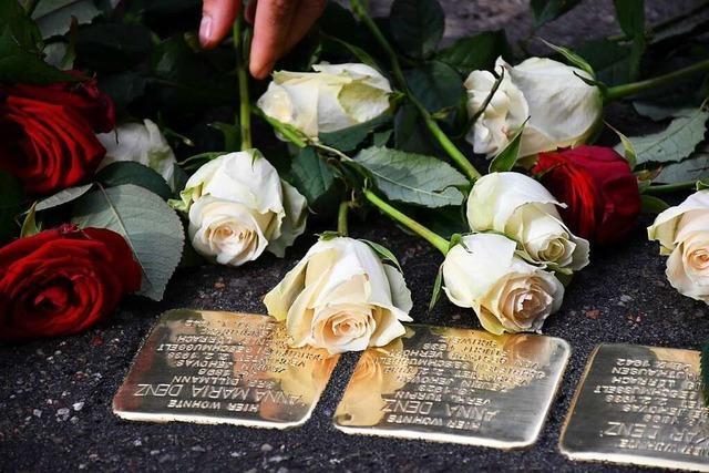 Stolpersteine sollen lebendiges Erinnern in Schopfheim in Gang bringen