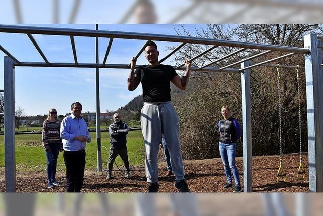 Sport im Calisthenics-Park
