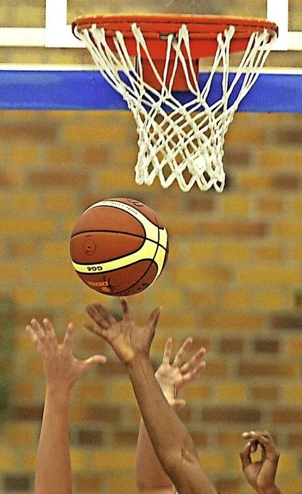 Die Hände zum Ball und zum Korb &#8211...ison dürfte es  das  nicht mehr geben.    Foto: Patrick Seeger