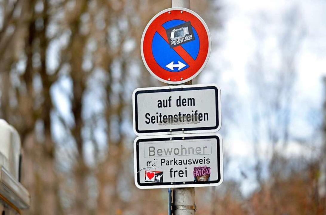 Wie stark das Anwohnerparken in Freibu...t wird, ist im Gemeinderat umstritten.  | Foto: Michael Bamberger