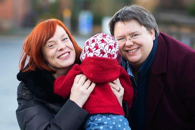 Ein lesbisches Paar kämpft für Gleichstellung bei den Elternrechten