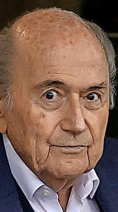 Sepp Blatter  | Foto: FABRICE COFFRINI (AFP)