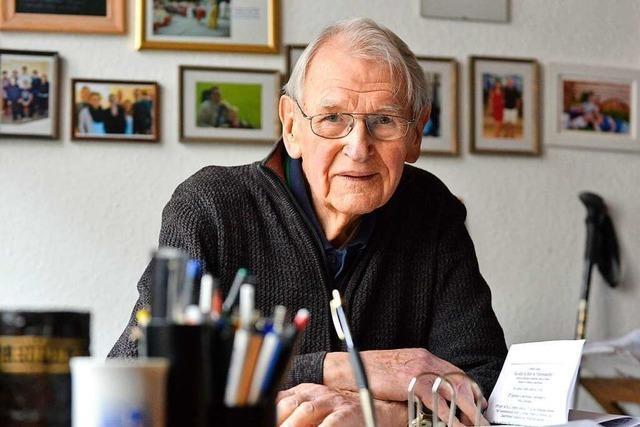 Bernhard Leupolz (86) schreibt seine Erinnerungen an die Kindheit in der NS-Zeit auf