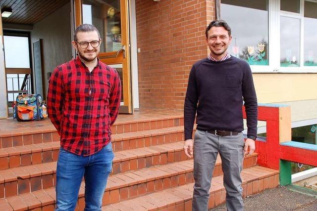 Die Dinkelbergschule in Rheinfelden hat wieder ein Schulleiter-Duo