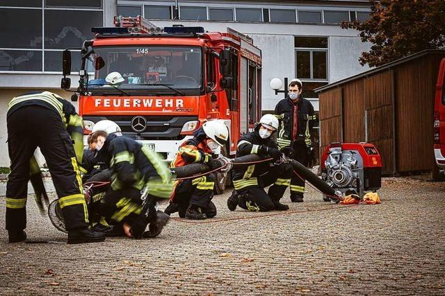 Wie die Pandemie die Feuerwehren vor Herausforderungen stellt