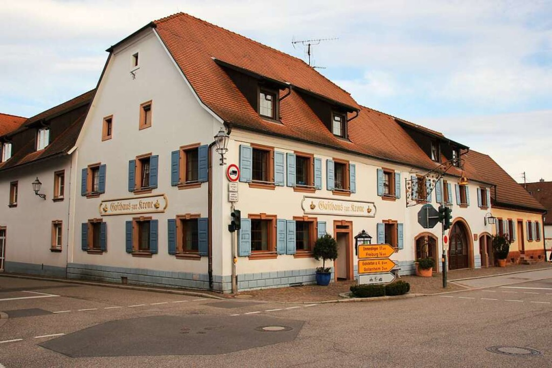 Das historische Gasthaus Krone in Bötzingen  | Foto: Mario Schöneberg