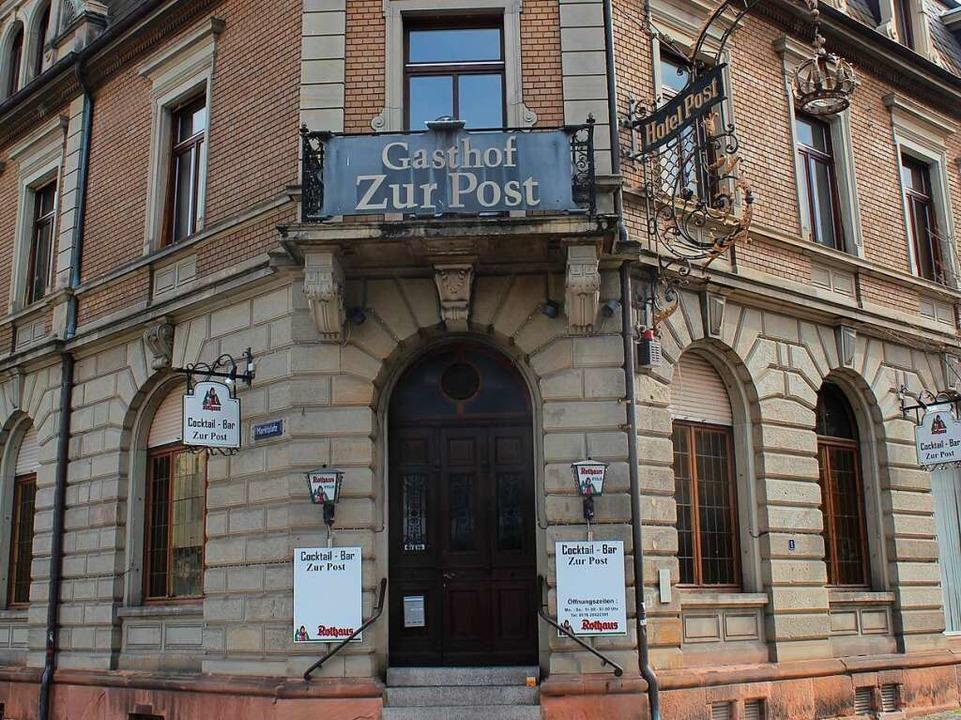 Der Gasthof zur Post in Emmendingen  | Foto: Maya Schulz