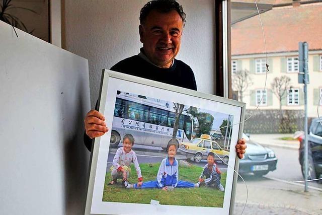 Fotogalerie in St. Peter kann ihre Fotos derzeit nur im Schaufenster zeigen