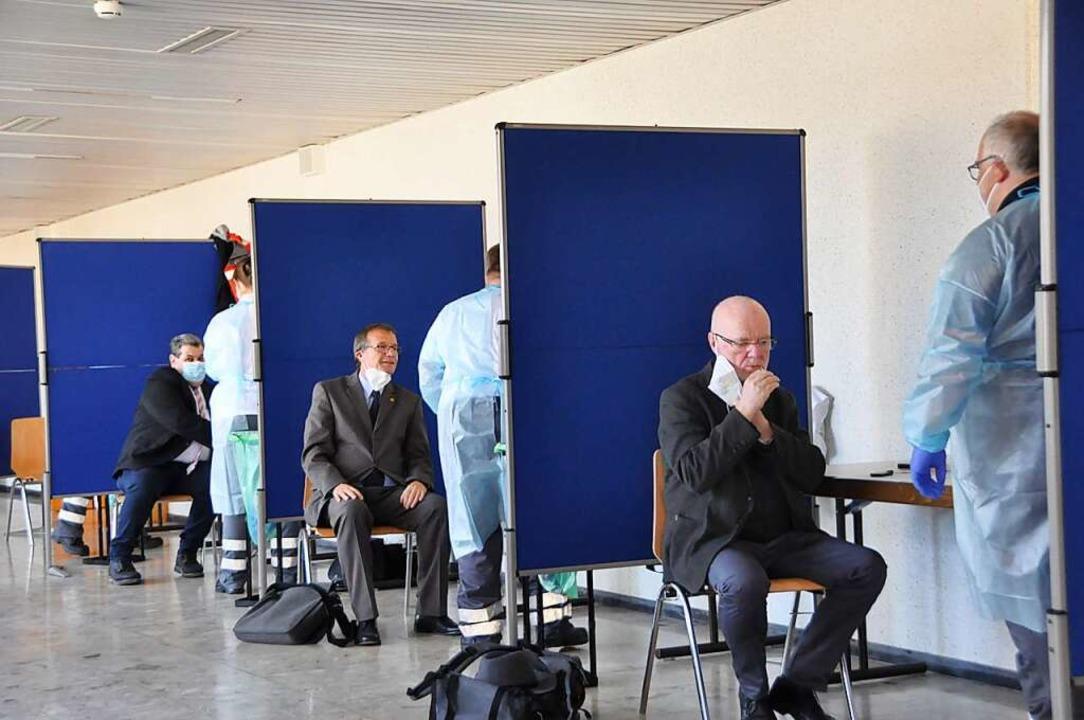 Baselland meldet 52 Neuinfektionen mit...ntensivpatienten werden nicht beatmet.  | Foto: Daniel Gramespacher
